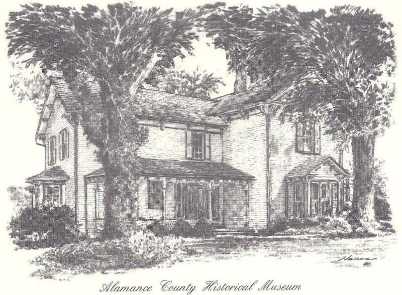 Alamance County Historical Museum History
